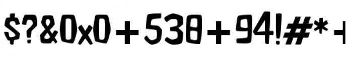 Fluffy Slacks BTN Light Font OTHER CHARS