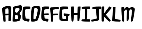 Fluffy Slacks BTN Light Font UPPERCASE