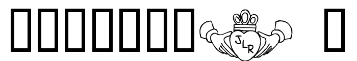 FL Claddagh Font OTHER CHARS