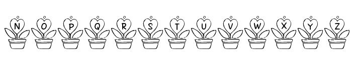 FL Love Plant Font UPPERCASE