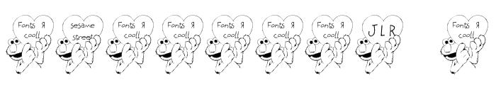 FL Sesame Street Font OTHER CHARS
