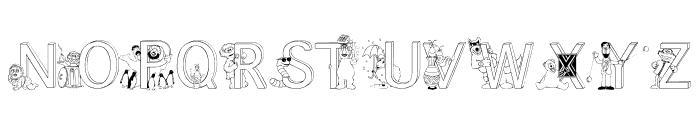 FL Sesame Street Font UPPERCASE