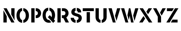 FLAMANTESTEN Font UPPERCASE