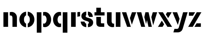 FLAMANTESTEN Font LOWERCASE