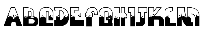 FLOOD WATER NORMAL Font UPPERCASE