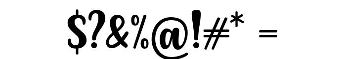 FLOTTA Font OTHER CHARS