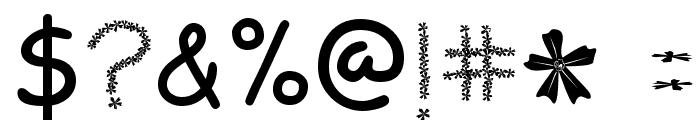 FLOWERcomic Font OTHER CHARS
