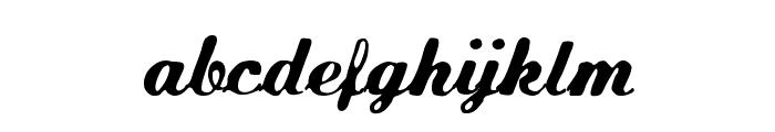 FLW Script Font LOWERCASE