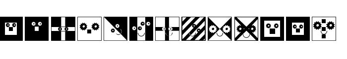 FlagsAndTemplates Font LOWERCASE
