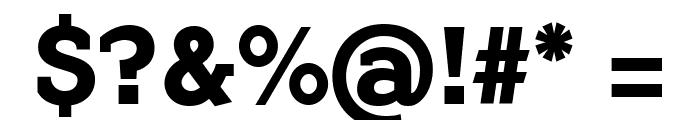 FlamanteCairoBold Font OTHER CHARS