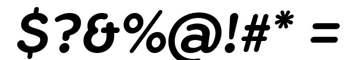 FlamanteRomaMedium-Italic Font OTHER CHARS