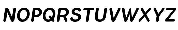 FlamanteRomaMedium-Italic Font UPPERCASE