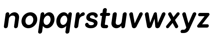 FlamanteRomaMedium-Italic Font LOWERCASE