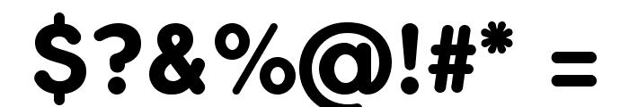 FlamanteRoundBold Font OTHER CHARS