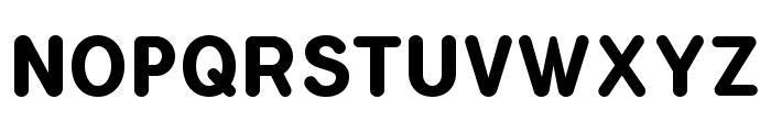 FlamanteRoundBold Font UPPERCASE