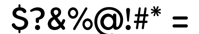 FlamanteRoundBook Font OTHER CHARS