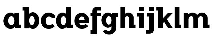 FlamanteSemiSlabBold Font LOWERCASE