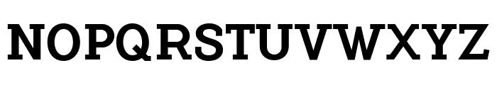 FlamanteSerif Font UPPERCASE