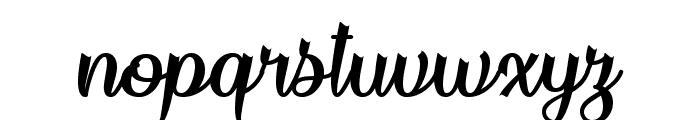 Flame Fetish Regular Font LOWERCASE