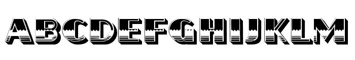 Flamed Regular Font LOWERCASE