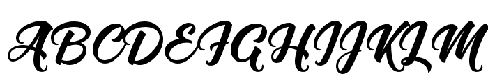Flaming Font UPPERCASE