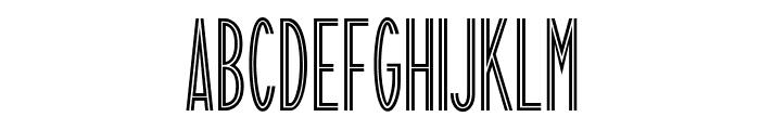 FlamingoLicht Font UPPERCASE