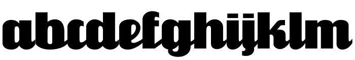 FlandersRide Font LOWERCASE