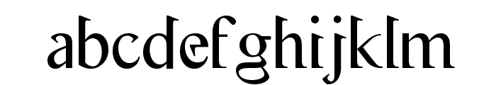 Flash Genocide Font LOWERCASE