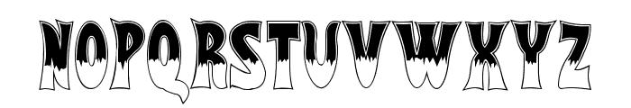 Flash Gordon Font UPPERCASE
