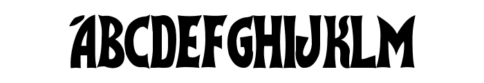 Flash Gordon Font LOWERCASE