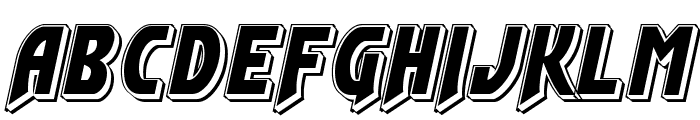 Flash Rogers Punch Font UPPERCASE