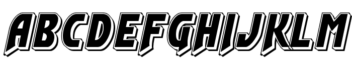 Flash Rogers Punch Font LOWERCASE