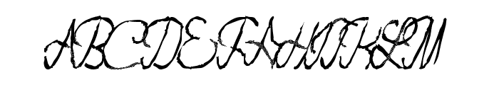 FlashDance Font UPPERCASE