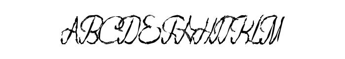 FlashDance Font LOWERCASE