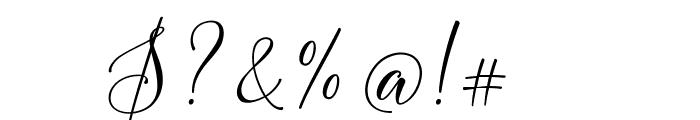 FlashScriptDEMO Font OTHER CHARS