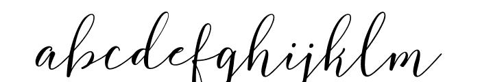 FlashScriptDEMO Font LOWERCASE