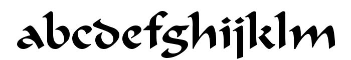 Flat Brush Normal Font LOWERCASE