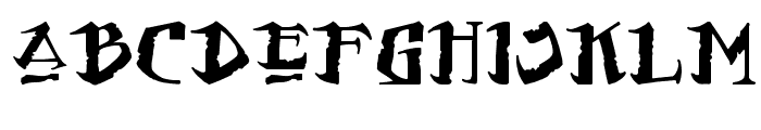 Flat Earth Scribe Font LOWERCASE