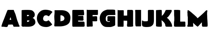 FlatBread Font UPPERCASE
