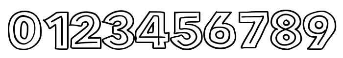FlatBreadInline Font OTHER CHARS