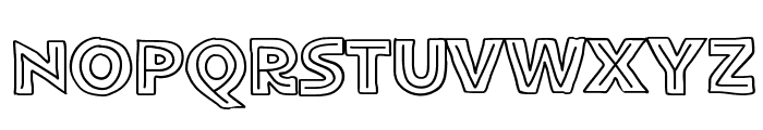 FlatBreadInline Font UPPERCASE