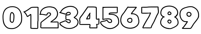 FlatBreadOutline Font OTHER CHARS