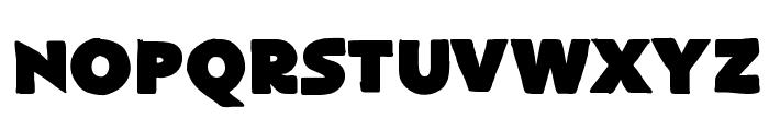 FlatBread Font LOWERCASE