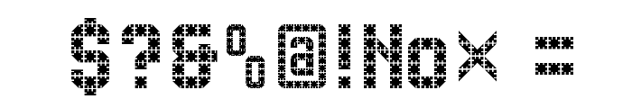 FlatPack Font OTHER CHARS