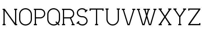 Flatform Light Font UPPERCASE