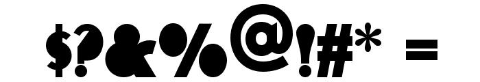 Flatiron NF Font OTHER CHARS