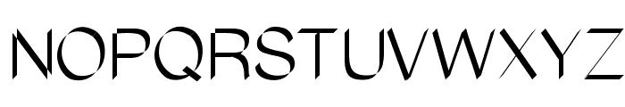 Flatstock Font UPPERCASE