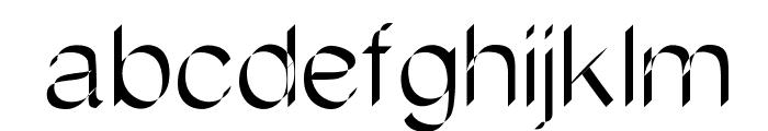 Flatstock Font LOWERCASE
