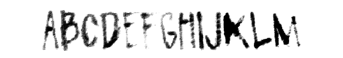 FlavorMaker Font LOWERCASE