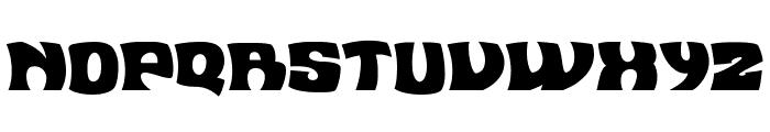 Flea Market Plain Font UPPERCASE